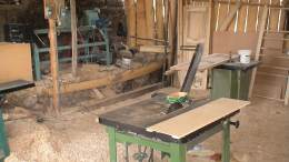 Inside workshop