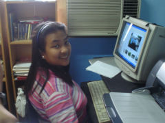 Ella in EPCM office