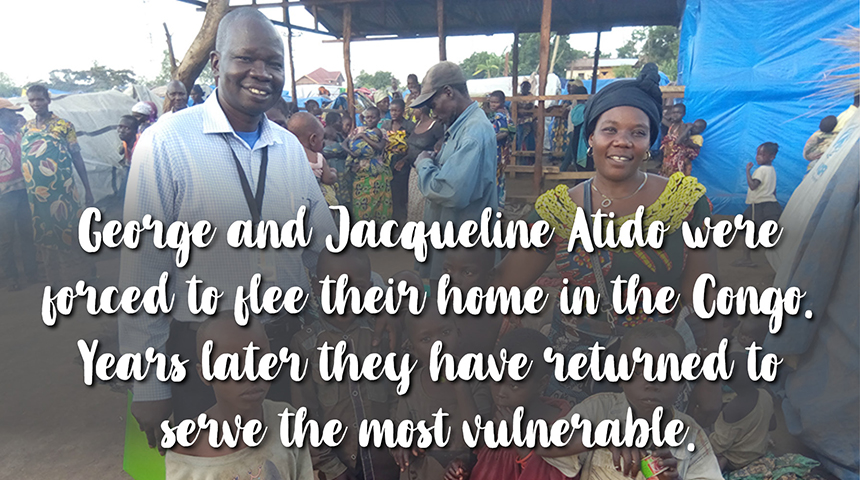 George and Jacqueline Atido - Bunia, Democratic Republic of Congo